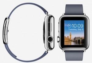 Apple iWatch ook voor linkshandig instellen