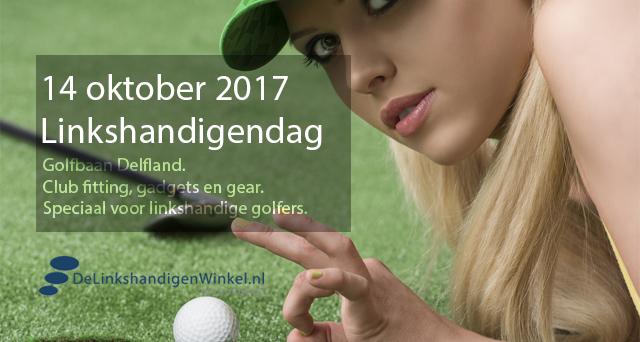 golf spelen linkshandig